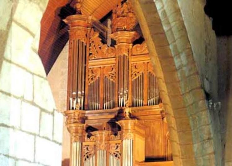 Visite Découverte De L'orgue De L'église à Vierzon