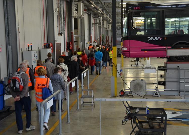 Visite Des Ateliers André Gervais - Centre D'exploitation Et De Maintenance Diviamobilités De Dijon Métropole.