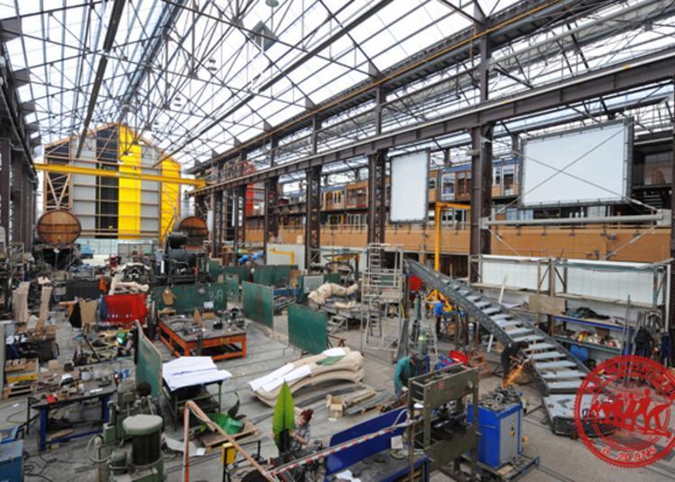 Visite Des Ateliers De La Compagnie La Machine à Nantes