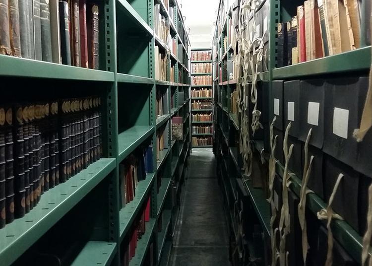 Visite Des Coulisses De La Bibliothèque Sainte-geneviève à Paris 5ème