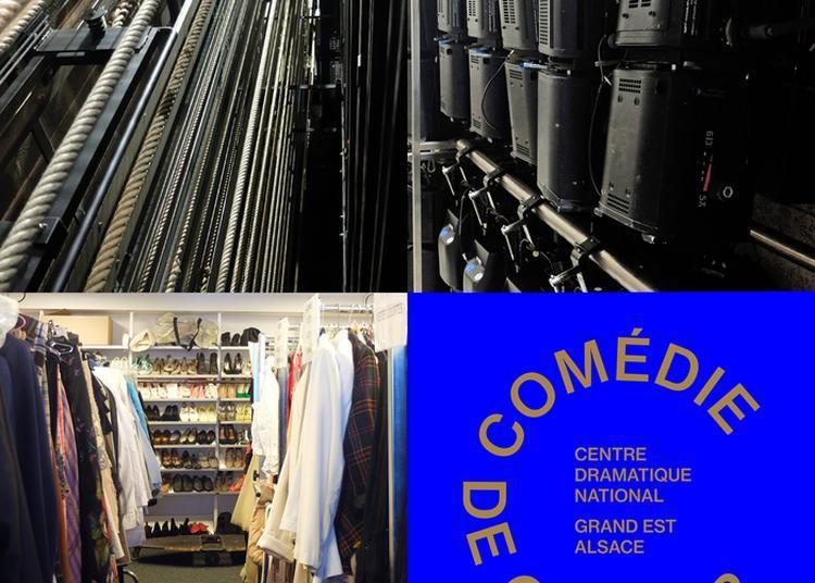 Visite Des Coulisses De La Comédie De Colmar