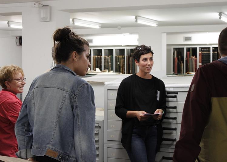 Visite Des Coulisses Des Archives De Paris à Paris 19ème