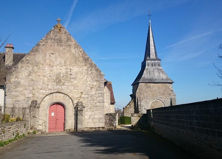 Visite Des Églises Jumelles à Boussac
