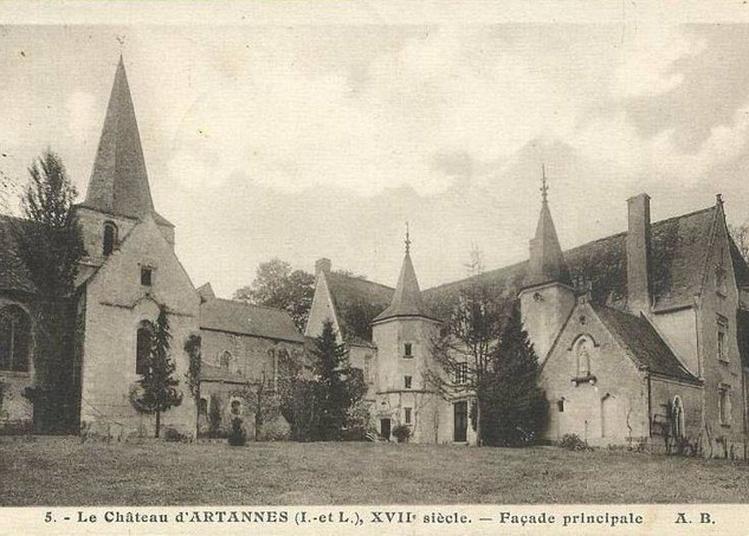 Visite Des Extérieurs Du Château à Artannes sur Indre