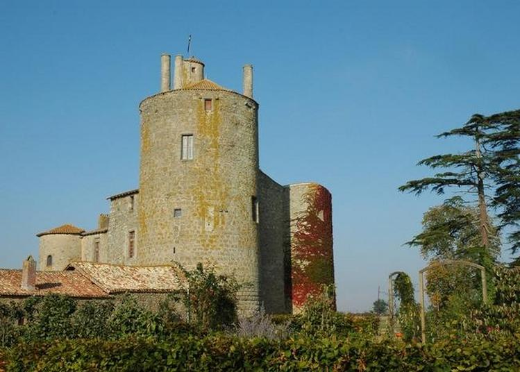 Visite Des Extérieurs Du Château De Muflet à Saint Aubin du Plain