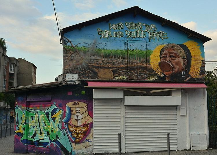 Visite Des Graffitis Aux Puces De Saint-ouen à Saint Ouen