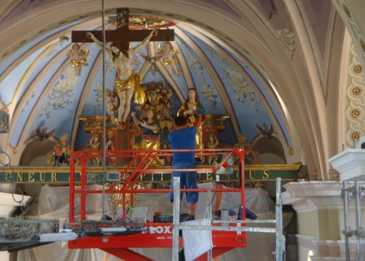 Visite Des Travaux De L'église Baroque D'hauteville-gondon. à Bourg saint Maurice