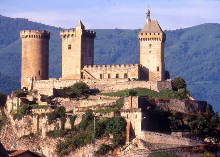 Visite Du Château Comtal à Foix