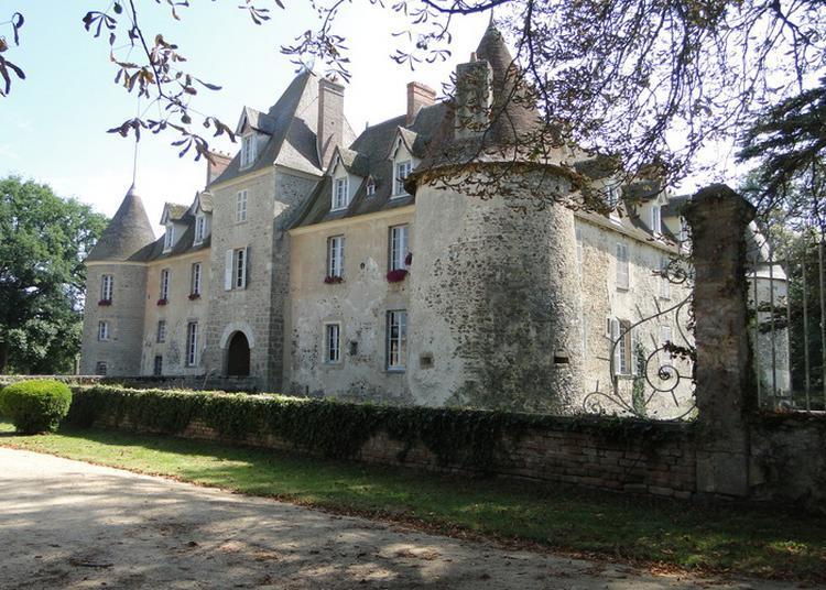 Visite Du Château De Bisseret à Montlucon