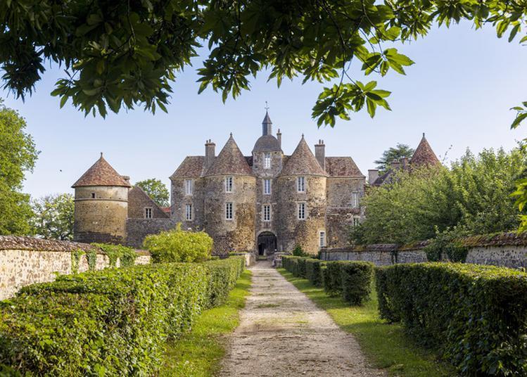 Visite Du Château De Ratilly : Patrimoine, Art, Spectacles, Terre, Découverte De L'atelier De Poterie à Treigny