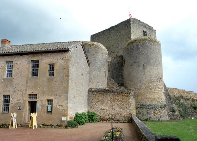 Visite Du Château De Semur-en-brionnais à Saint Martin du Lac