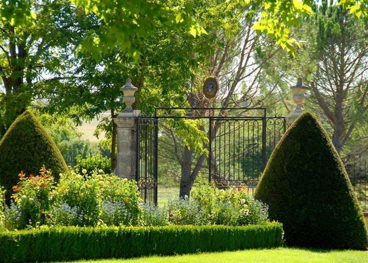 Visite Du Jardin Du Château De Sauvan à Angers