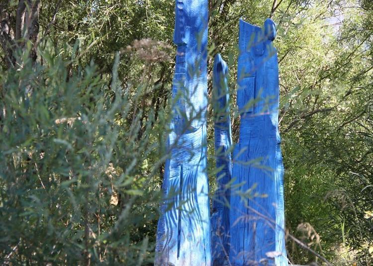 Visite Du Jardin Du Sculpteur De Thierry Ollagnier à Val des Pres