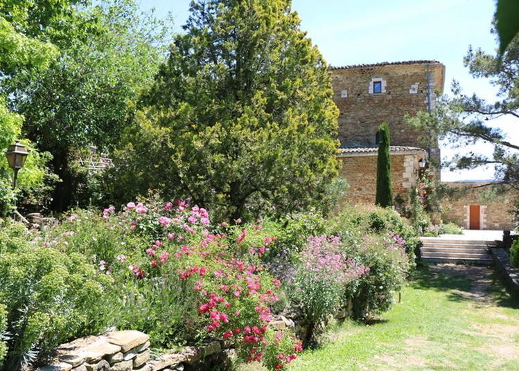 Visite Du Jardin Remarquable à Simiane la Rotonde