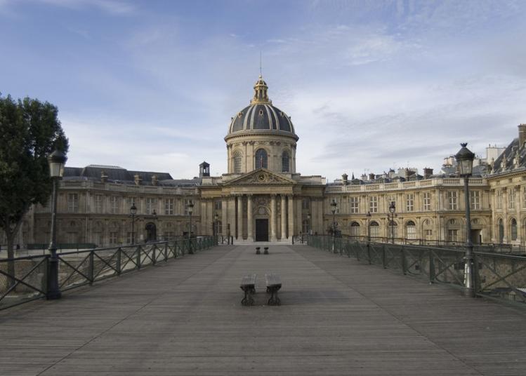Visite Du Palais De L'institut (coupole, Cours, Bibliothèques, Grande Salle Des Séances) Et Séance De Dédicaces D'académiciens à Paris 6ème