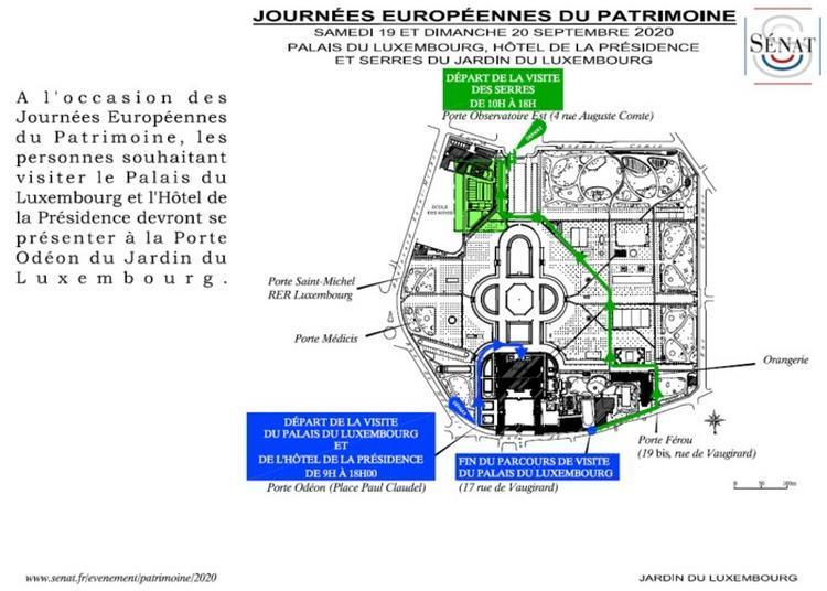 Visite Du Palais Du Luxembourg Et Du Petit Luxembourg à Paris 6ème