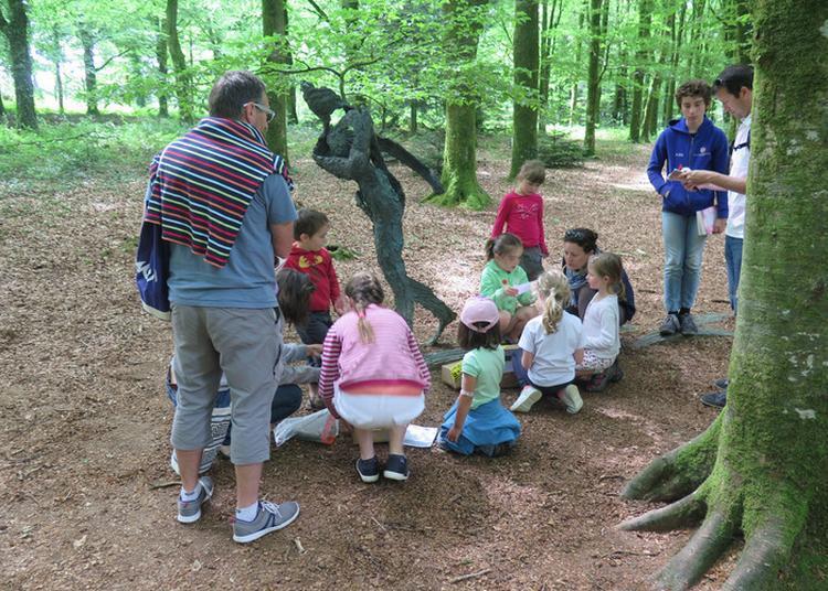 Visite Du Parc De Sculptures à Bignan