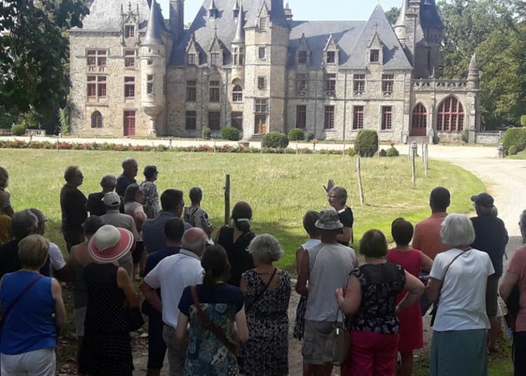 Visite Du Parc Du Bois Cornillé Commentée Par La Propriétaire à Val d'Ize