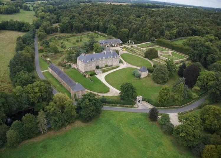 Visite Du Parc Du Château De Couellan à Guitte