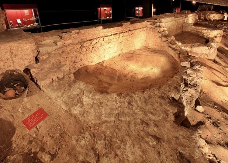 Visite Du Parcours D'exposition Permanent Gallo-romain De La Crypte Archéologique à Dax