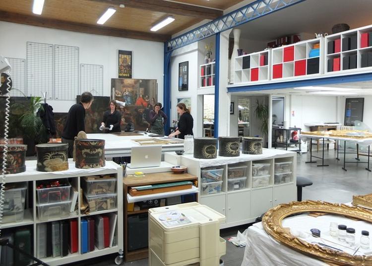 Visite Du Pôle De Conservation-restauration Le 16 Ter à Nantes