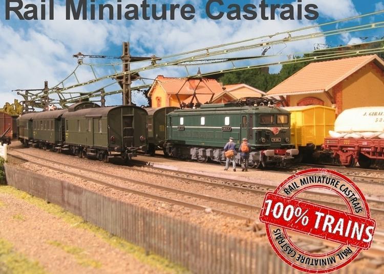 Visite Du Réseau Et Du Musée Du Petit Train à Castres