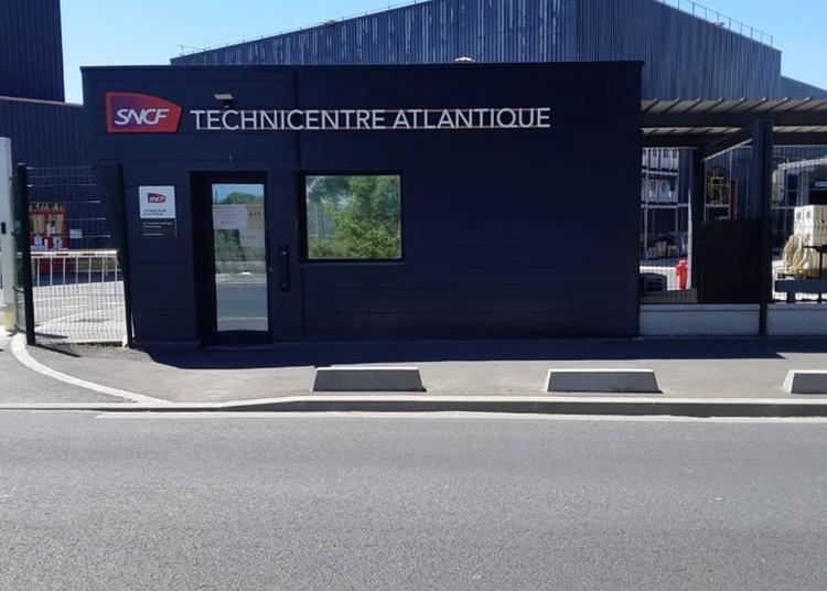 Visite Du Technicentre Atlantique à Chatillon