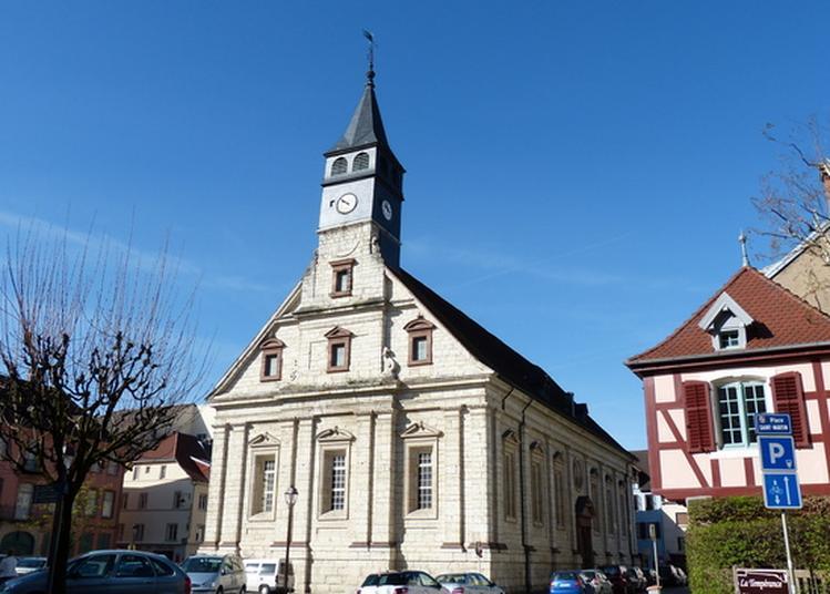 Visite Du Temple Saint-martin De Montbéliard à Montbeliard