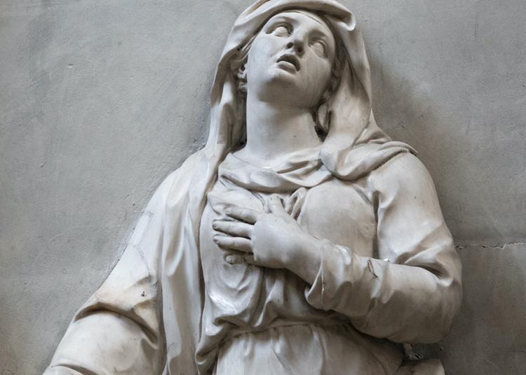 Visite Du Tombeau De Catherine Duchemin Par Girardon à Paris 11ème
