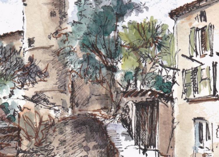 Visite Du Village De Salavas Par Les Amis De L'histoire