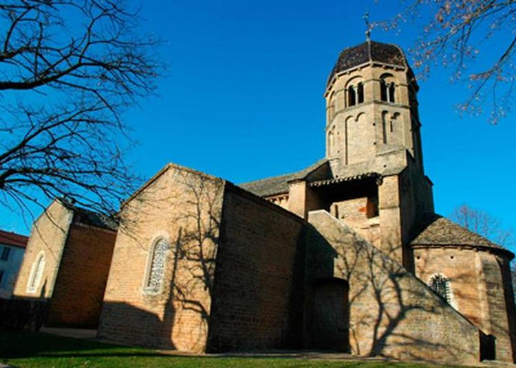 Visite Eglise Sainte-madeleine à Charnay les Macon