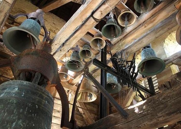 Visite et audition du carillon manuel de GAULENE (81340) à Saint Julien Gaulene