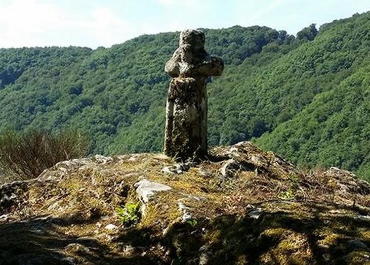 Visite Et Présentation De L'hermitage Mérovingien De Saint Till à Brageac