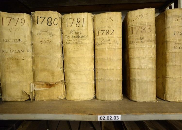 Visite Et Re-découverte Des Coulisses Des Archives Municipales à Avignon