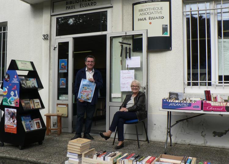 Visite Et Rencontres à La Bibliothèque Associative Paul Eluard à Saint Herblain