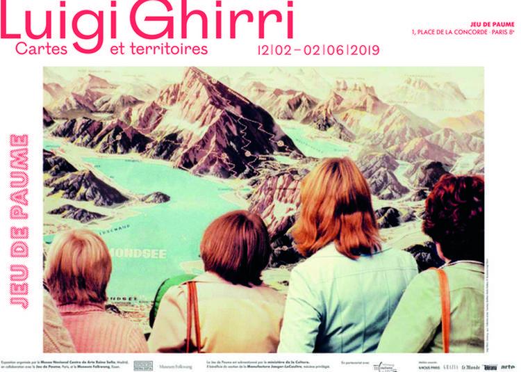Exposition Luigi Ghirri. Cartes Et Territoires à Paris 8ème