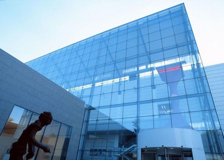 Visite Extérieure De L'architecture Du Musée D'art Moderne Et Contemporain De Strasbourg