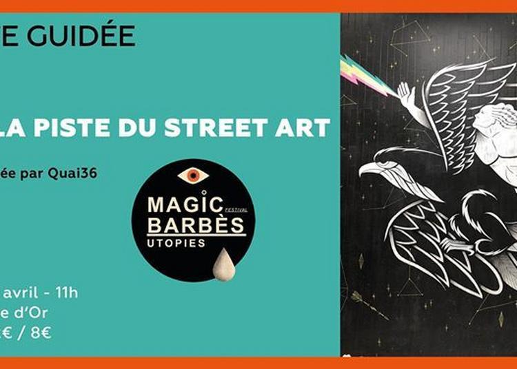 Visite guidée autour du street art ? la Goutte d'Or à Paris 18ème