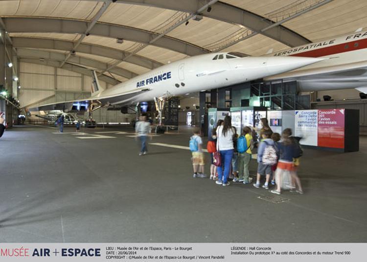 Visite Guidée 100 % Concorde à Le Bourget