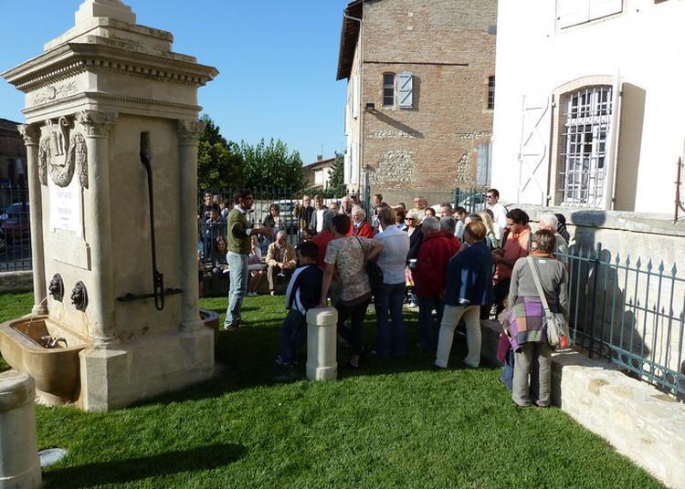 Visite Guidée de la Fontaine Du Thouron à Caussade