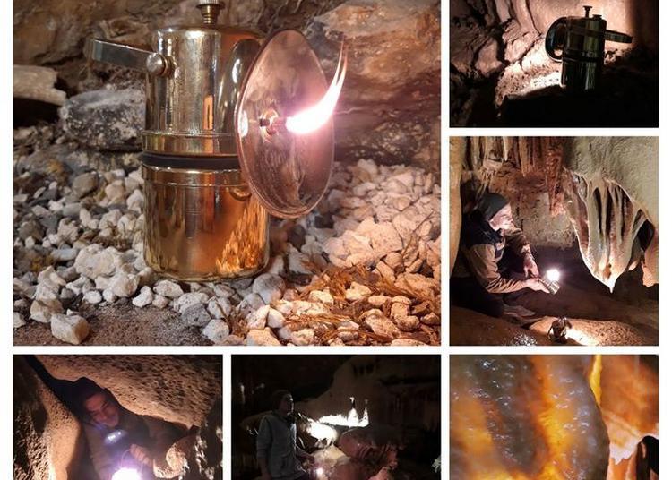 Visite Guidée à L'ancienne Avec Des Lampes à Carbure à Mialet