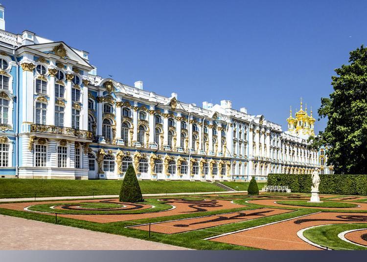 Visite Guidée Au Palais Catherine à Tsarskoïe Selo, Russie ? Projection Exclusive à Paris 7ème