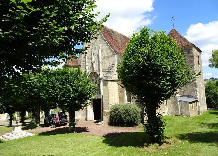 Visite Guidée D'une église Rurale Du Début Du Xvième Siècle à Colmery