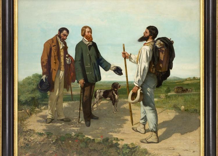 Visite Guidée De L'accrochage Bonjour, Monsieur Courbet ! à Montpellier