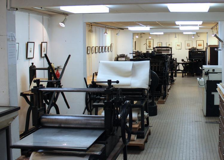 Visite Guidée De L'atelier-musée D'art Graphique D'arcueil à Arcueil