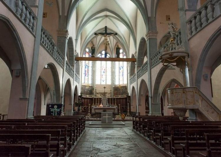 Visite Guidée De L'Église D'orgelet à Orgelet