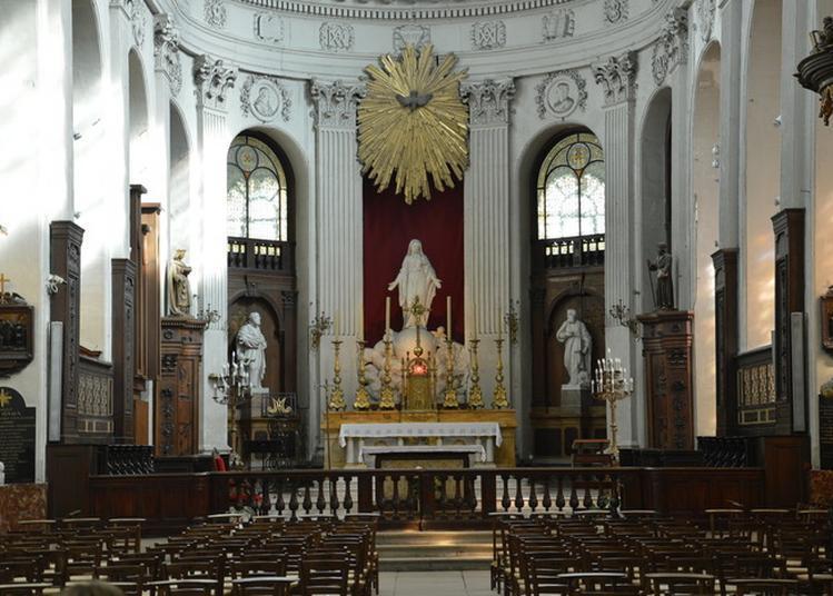 Visite Guidée De L'église Des Blancs-manteaux à Paris 4ème