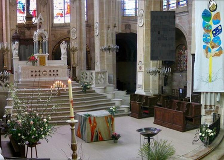 Visite Guidée De L'église, Des Orgues Et De La Chapelle De L'ordre Du Saint-sépulcre à Paris 1er