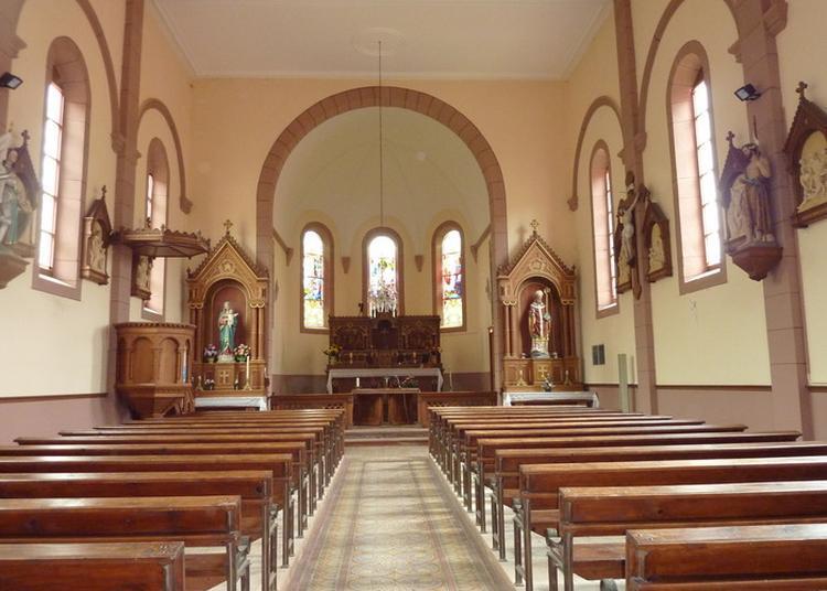 Visite Guidée De L'église Raon Lès Leau à Raon les Leau