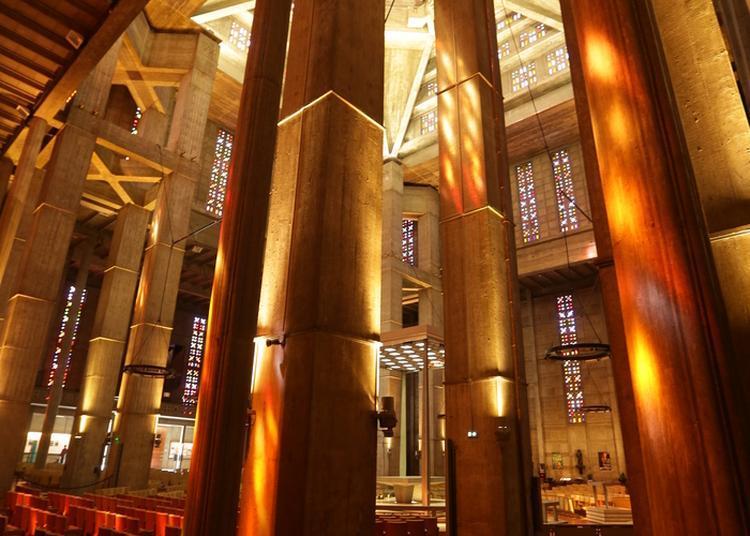 Visite Guidée De L'église Saint-joseph à Le Havre